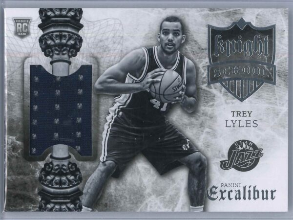 Trey Lyles Panini Excalibur 2015-16 Knight School RC Patch   Rookie Patch