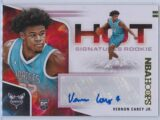 Vernon Carey Jr. Panini Hoops 2020 21 Hot Signatures Rookie RC Auto 1 scaled