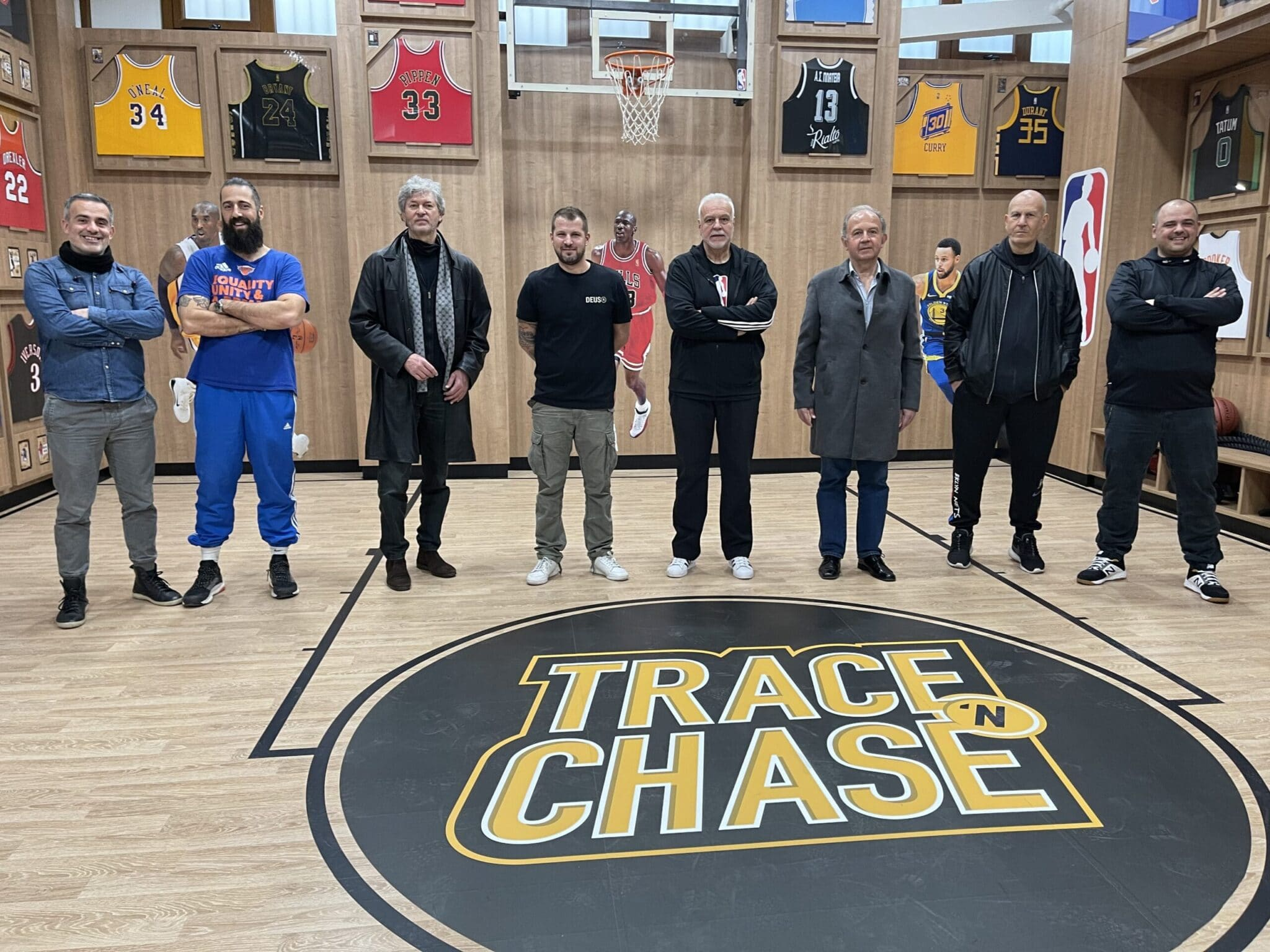 Trace 'N Chase hosts Greek Basketball legend and current President of Aris B.C. Haris Papageorgiou as well as All-Time scorer of Iraklis B.C. and current Vice President of EKASTH Giannis Tsoumis