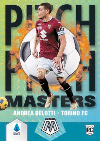 2020-21 Panini Mosaic Serie A Soccer Cards Hobby Box