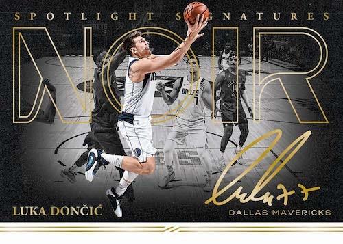 2020-21 Panini Noir Basketball Cards Hobby Box