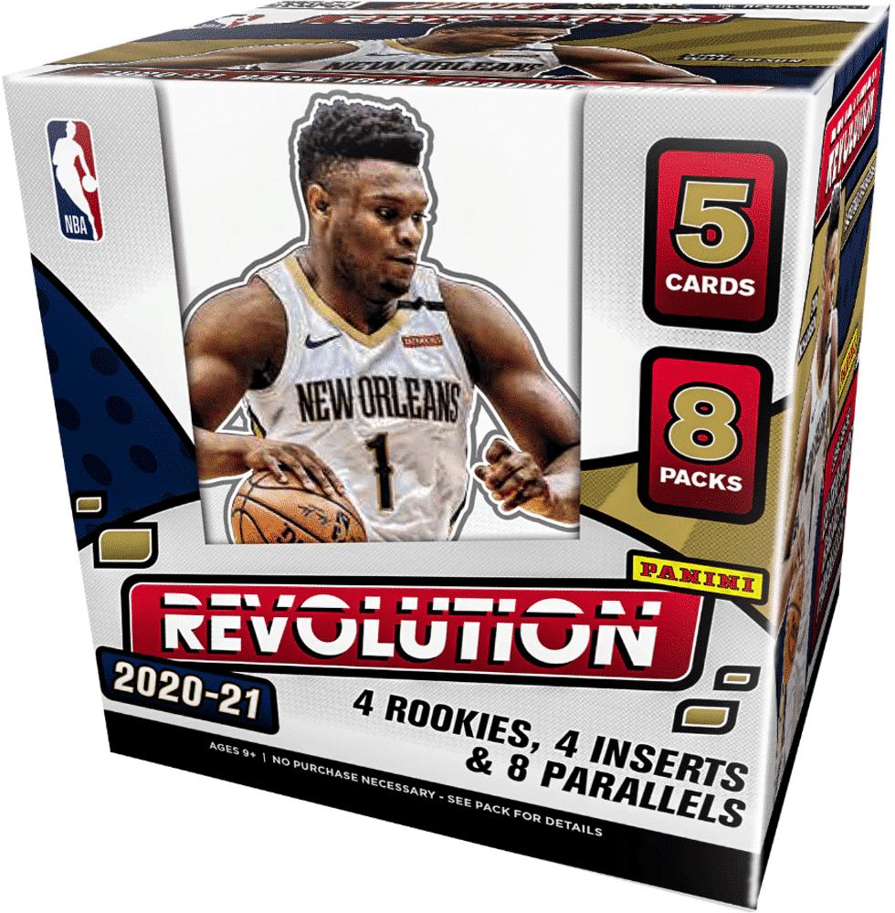 NBA Revolution 2020-21 Hobby 2-Box Random Team Break