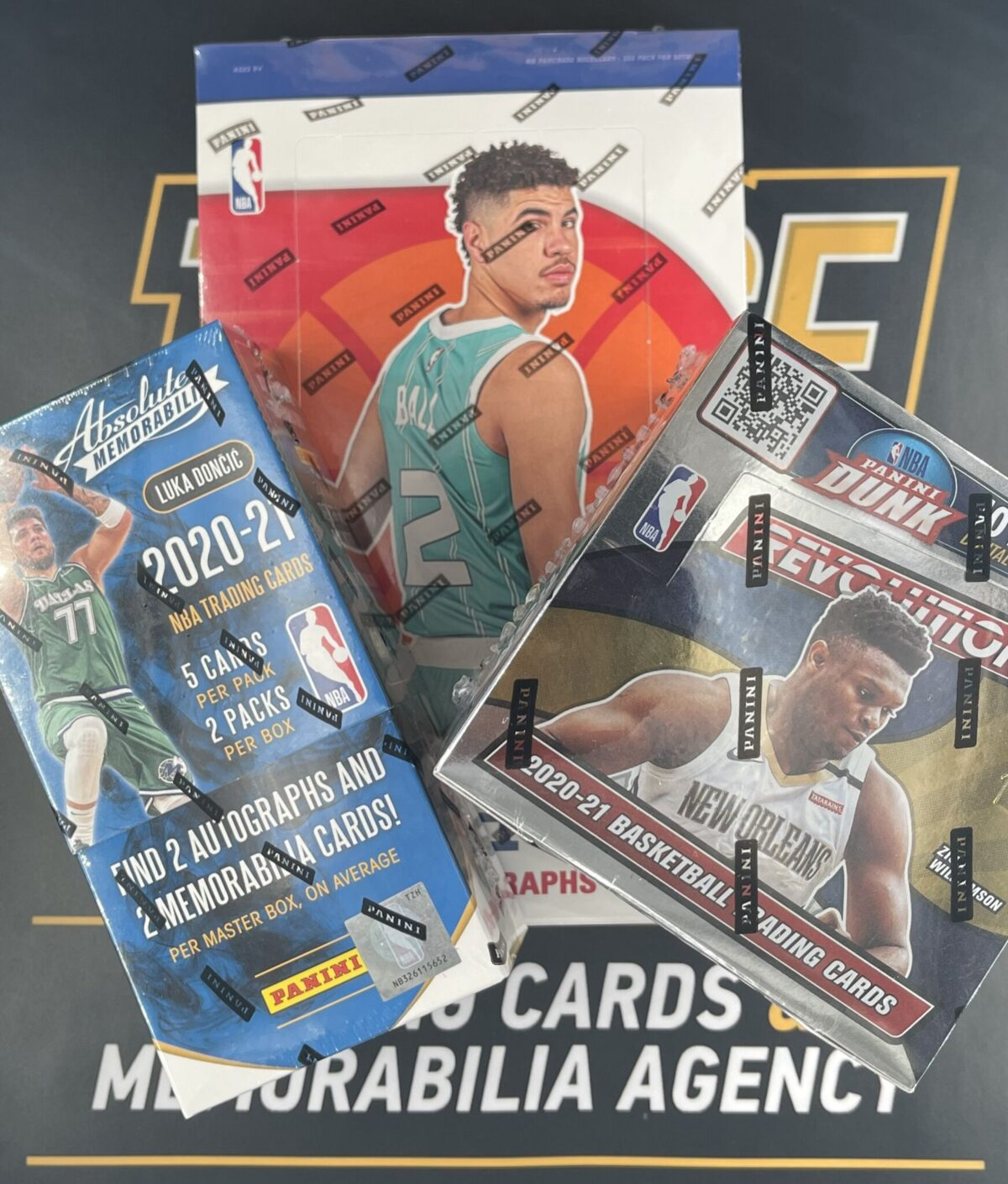 NBA 2020-21 3-Box Hobby Mixer Random Team Break