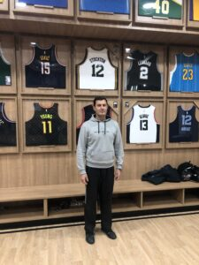 Basketball Coach and University Professor Stefanos Perkos visits Trace 'N Chase