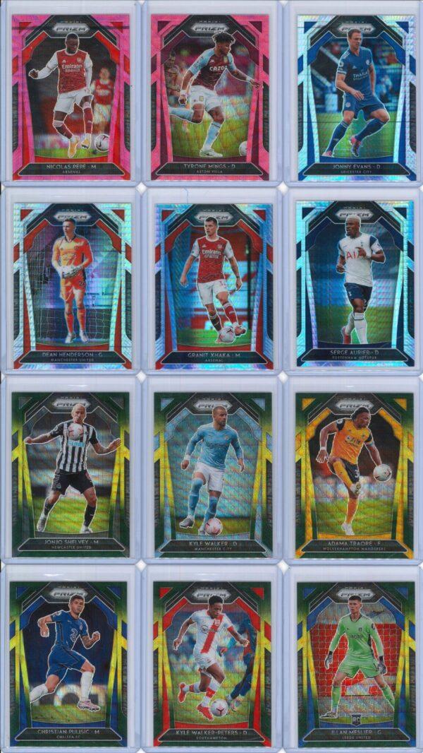 EPL Prizm 12-card LOT Panini Prizm 2020-21 Base Various
