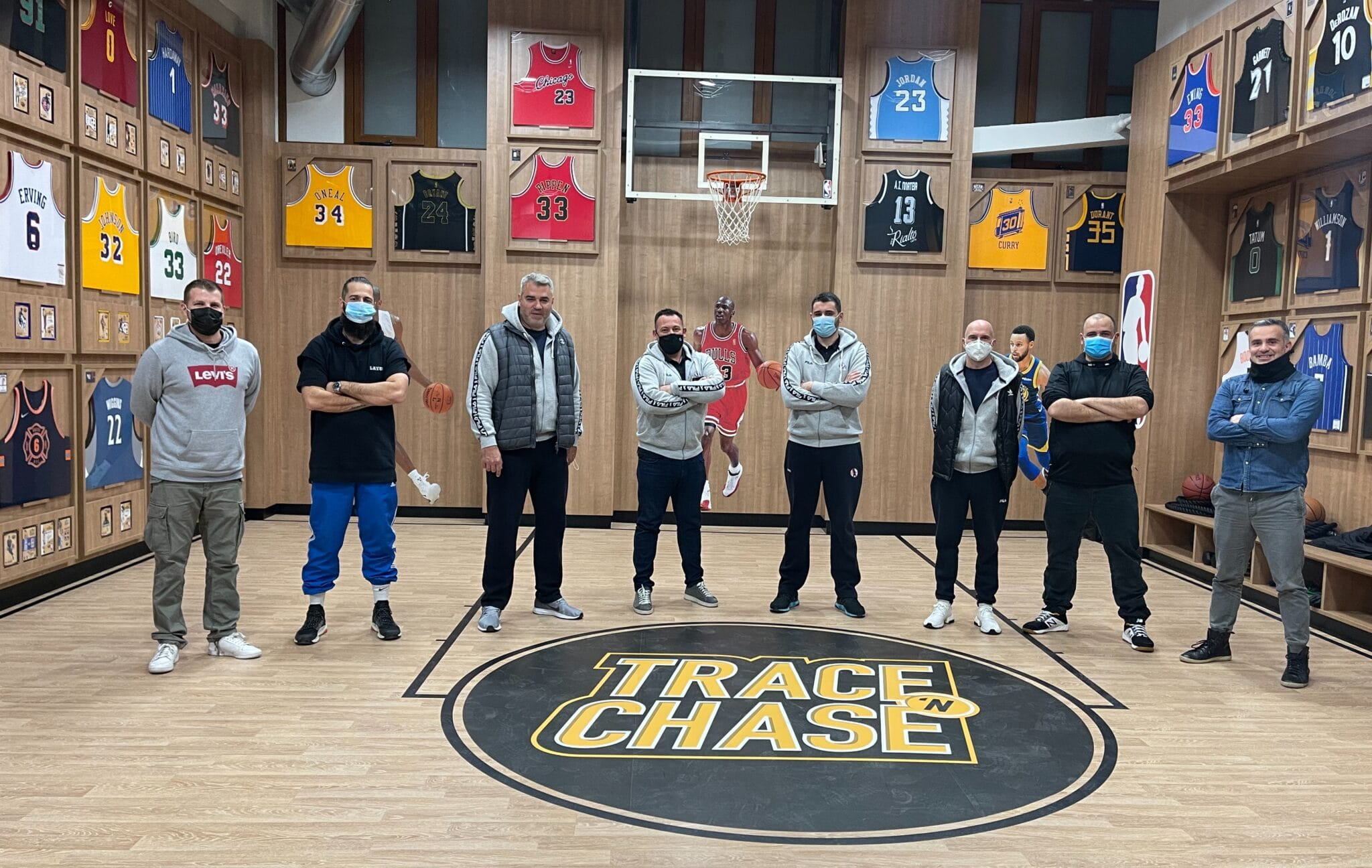 Trace 'N Chase hosts the coaching staff of Kolossos Rodou B.C.