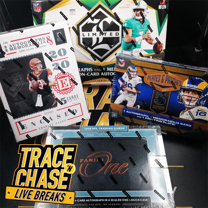 NFL 2020 4-Box Hobby Mixer Random Team Break
