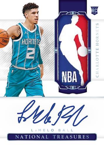 2020-21 Panini National Treasures Basketball Cards Hobby Box