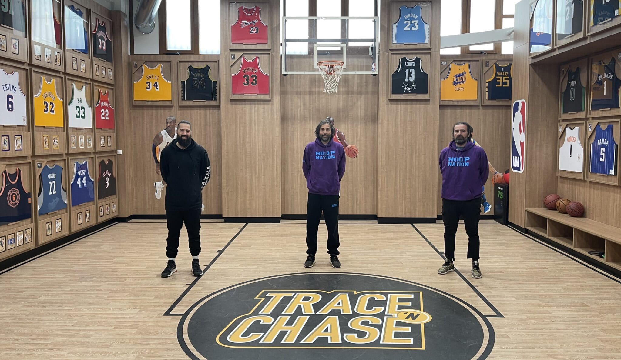 The Trace 'N Chase team welcomes EuroCup winner, Greek Champ and Greek Cup winner George Maslarinos