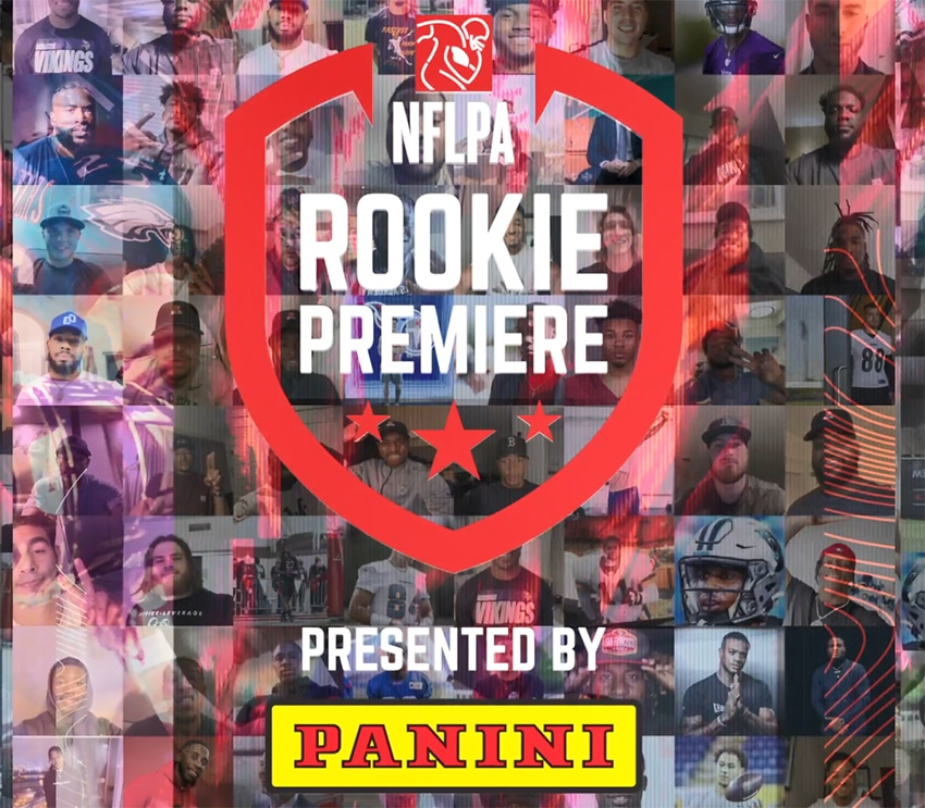 NFLPA, Panini America Reveal 2021 Rookie Premiere Class