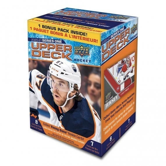 2020 21 Upper Deck Series Οne Hockey Cards Blaster Box