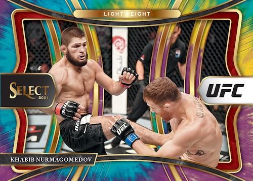 2021 Panini Select UFC Cards Hobby Box