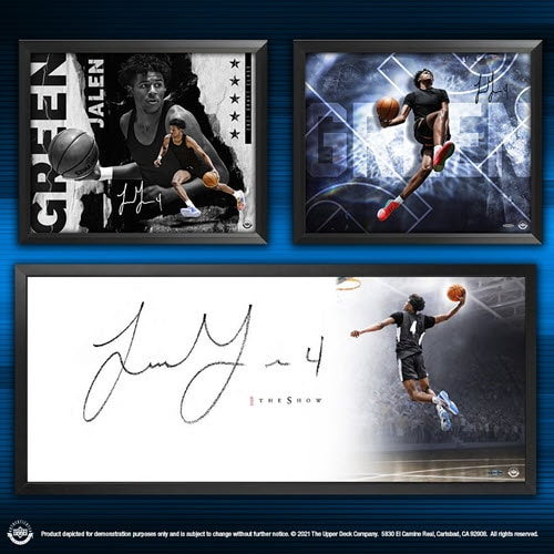 Upper Deck Announces New Autographed Collectibles of Expected First-Round Draft Pick Jalen Green