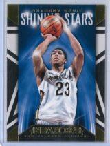 Anthony Davis Panini NBA Hoops 2014 15 Shining Stars Gold 1