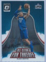 Blake Griffin Panini Donruss Optic Basketball  2017-18 All Clear For Takeoff