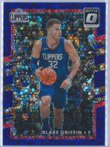 Blake Griffin Panini Donruss Optic Basketball 2017-18  Fast Break Purple 124155
