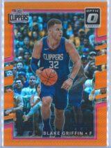Blake Griffin Panini Donruss Optic Basketball 2017-18  Orange 014199