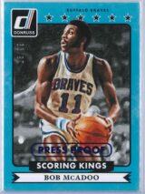 Bob McAdoo Panini Donruss Basketball 2014 15 Scoring Kings 1399 Press Proof 1 scaled