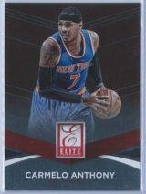 Carmelo Anthony Panini Donruss Basketball 2014-15 Elite