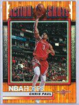 Chris Paul Panini NBA Hoops Basketball 2018-19 Action Shots