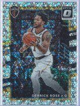 Derrick Rose Panini Donruss Optic Basketball 2017-18  Fast Break Holo