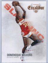 Dominique Wilkins Panini Excalibur Basketball 2014-15 Slam Inc