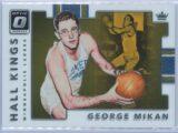 George Mikan Panini Donruss Optic Basketball 2017-18 Hall Kings