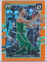 Gordon Hayward Panini Donruss Optic Basketball 2017-18  Orange 036199