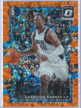 Harrison Barnes Panini Donruss Optic Basketball 2017-18  Fast Break Orange 078193
