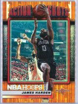 James Harden Panini NBA Hoops Basketball 2018-19 Action Shots