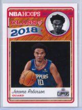 Jerome Robinson Panini NBA Hoops Basketball 2018-19 Class of 2018