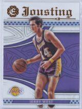 Jerry West Panini Excalibur Basketball 2016-17 Jousting