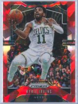 Kyrie Irving Panini Prizm 2019-20  Red Cracked Ice