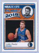 Luka Doncic Panini NBA Hoops Basketball 2018-19 Class of 2018