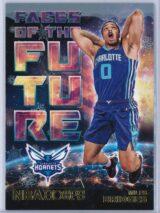 Miles Bridges Panini NBA Hoops Basketball 2018-19 Faces Of The Future Gold  Winter Edition