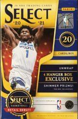 Select Basketball 2020 21 Hanger Box