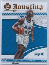 Shaquille Oneal Panini Excalibur Basketball 2016-17 Jousting