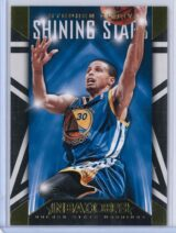 Stephen Curry Panini NBA Hoops 2014 15 Shining Stars Gold 1
