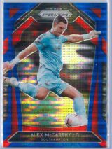 Alex McCarthy Panini Prizm Premier League 2020-21  Blue Pulsar 157195