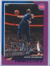 Andre Drummond Panini NBA Hoops 2018-19  Purple