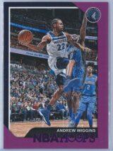Andrew Wiggins Panini NBA Hoops 2018-19  Purple