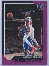 Anthony Tolliver Panini NBA Hoops 2018-19  Purple