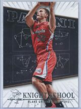 Blake Griffin Panini Panini Basketball 2013-14 Knight School
