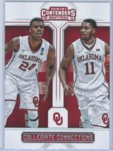 Buddy Hield - Isaiah Cousins Panini Contenders Draft Picks 2016-17 Collegiate Connections