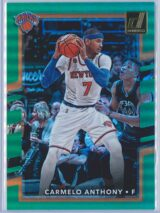 Carmelo Anthony Panini Donruss Basketball 2017-18  Holo Green Laser 3299