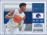 Chandler Hutchison Panini Contenders Draft Picks 2018 19 Game Day Ticket 1