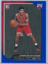 Chandler Hutchison Panini NBA Hoops 2018-19  Blue  RC