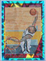 Chris Andersen Panini NBA Hoops 2016-17  Teal Explosion