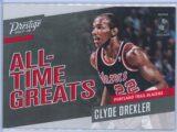 Clyde Drexler Panini Prestige 2017-18 All Time Greats