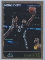 Corey Brewer Panini NBA Hoops 2014-15  Gold